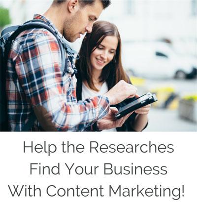 Get found Content marketing